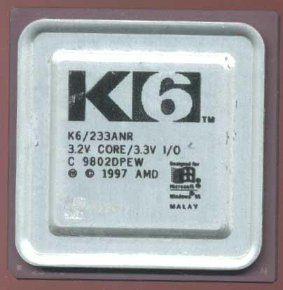 AMD K6 Big Logo