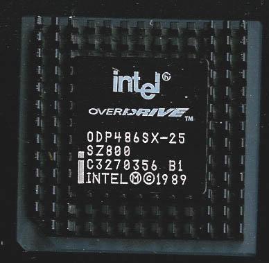 Intel 486 Overdrive