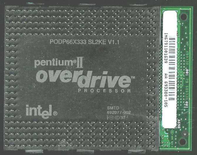 Intel Pentium II Overdrive
